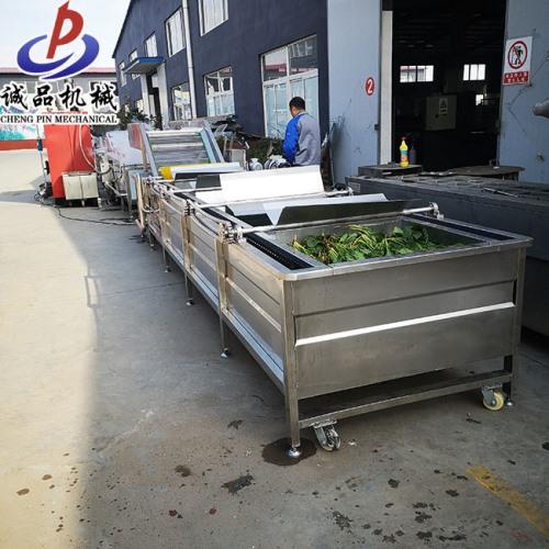 蔬菜水果清洗机流水线 净菜加工成套设备 厂家直销